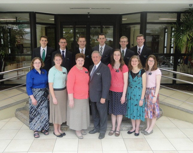 New group of missionaries at the Brazil CTM